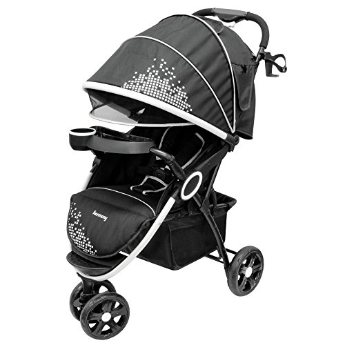 Harmony Urban Deluxe Convenience Stroller, Gala