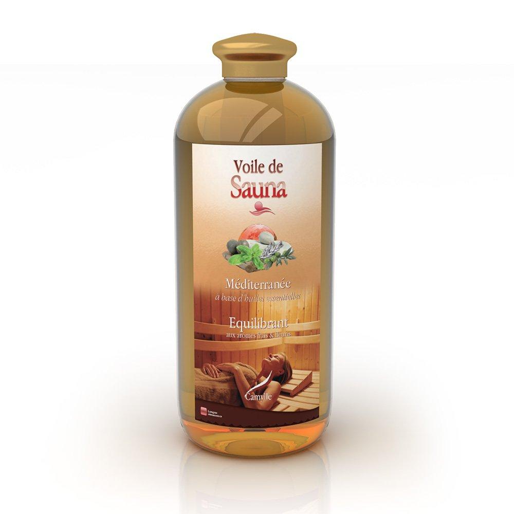 Voile de Sauna à base d'huiles essentielles pour sauna – Orient - Positivant– 1000ml Camylle