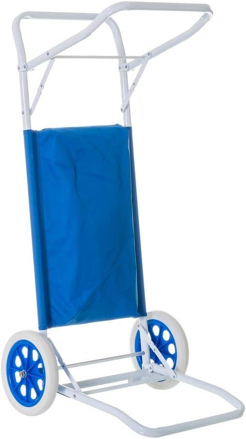 Carro portasillas Plegable para Camping y Playa (Standard)