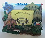 Texas Lone Star State Snow Globe Picture Frame