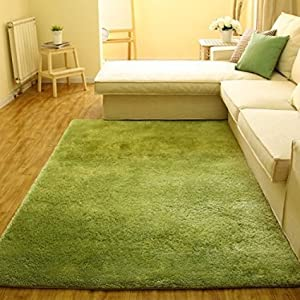 super soft indoor modern shag area silky smooth rugs living room