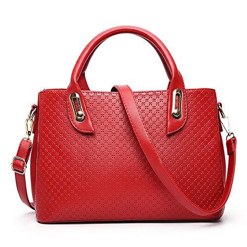 Bolso hombro mujer MANYYSI única talla al para DEDBBY220633 Beige Rojo beige dqECE