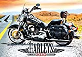 Harley Davidson 2020 Calendar - Gifts - Accessories (English, German and French Edition)
