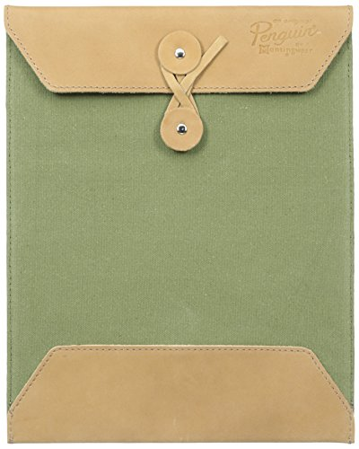 original-penguin-mens-leather-canvas-portfolio-loden-green-one-size