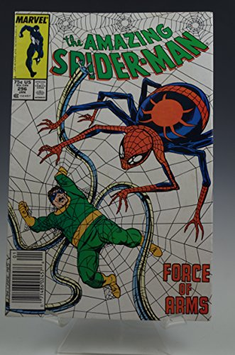 THE AMAZING SPIDER-MAN #296 MARVEL COMIC BOOK 1987