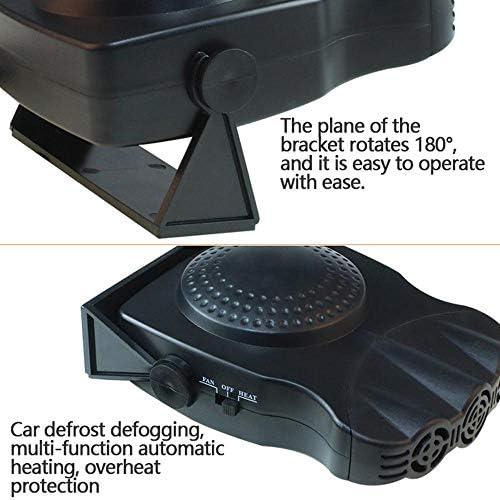 Riscaldamento rapido in 30 Secondi sbrinamento rapido LayOPO riscaldatore Portatile in Ceramica Termoventilatore Multifunzionale per Auto 12 V 150 W