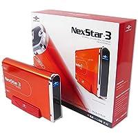 Vantec NexStar 3 NST-360U2-RD 3.5-Inch IDE to USB 2.0 External Hard Drive Enclosure (Brilliant Red)
