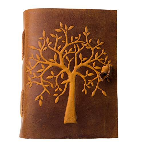 LEATHER JOURNAL Tree Life Sketchbook product image