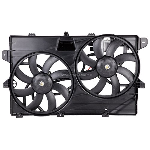 Condenser Or Radiator Cooling Fan Assembly For Ford Edge & Lincoln MKX 2007-13 - BuyAutoParts 19-20805AN NEW - New Radiator Fan Assembly