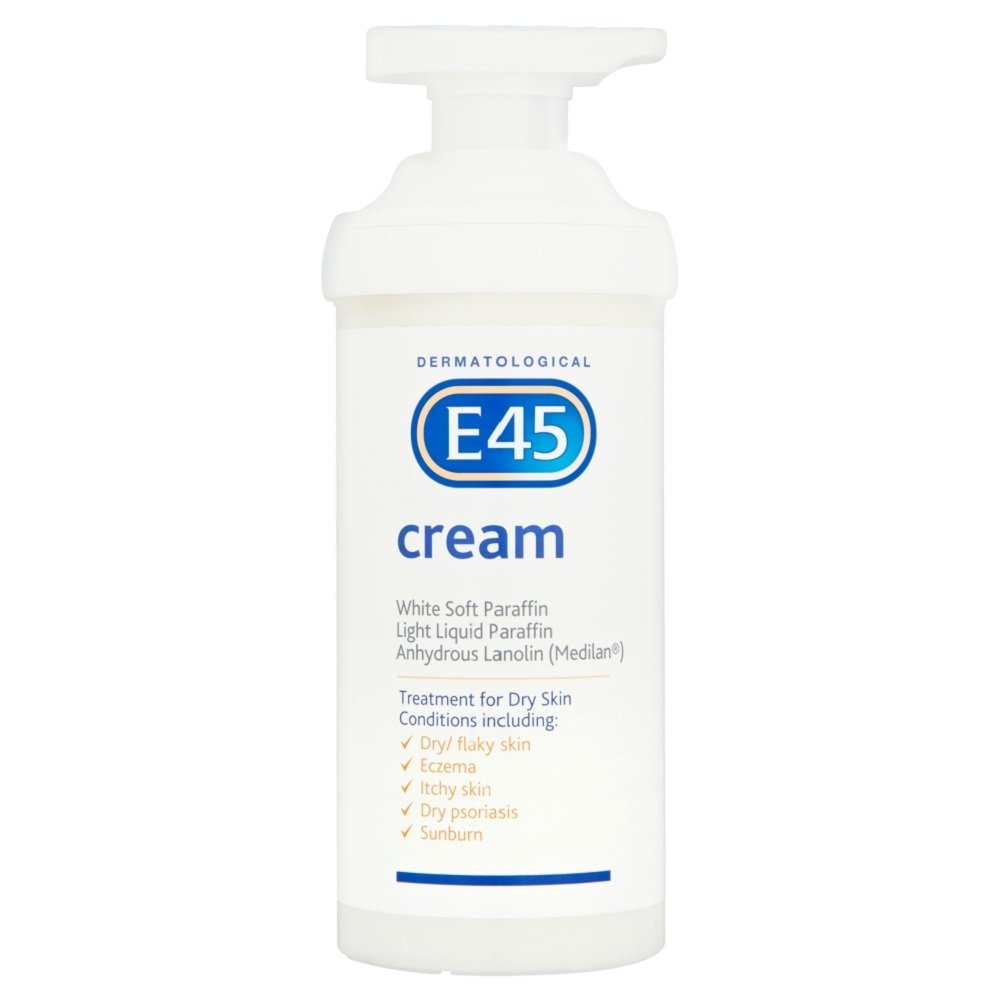 E45 Dermatological Cream Treatment for Dry Skin Conditions (500g)
