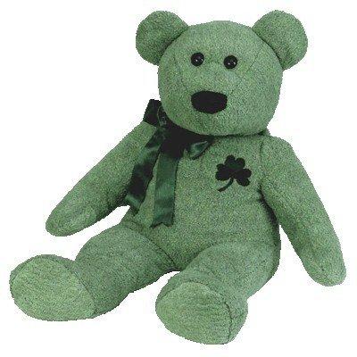 c2e9869b923 Amazon.com  Ty Beanie Buddy Shamrock the Extra Large Bear  Toys   Games