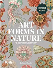 Art Forms in Nature by Ernst Haeckel: 100 Downloadable High-Resolution Prints for Artists, Designers and Nature Lovers