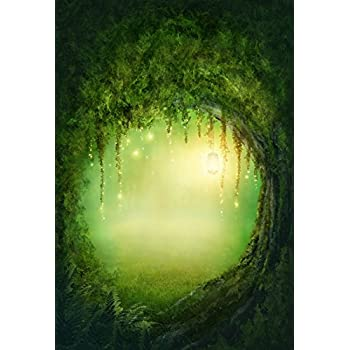 10b8ce1a6efe5 Baocicco Backdrop 10x12ft Enchanted Forest Photo Background Wonderland  Fairyland Mystic Photo Booth Props Glitter Fantasy Backdrops