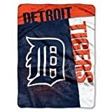 Detroit Tigers 60''x80'' Royal Plush Raschel Throw Blanket - Strike Design