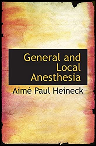 Book General and Local Anesthesia