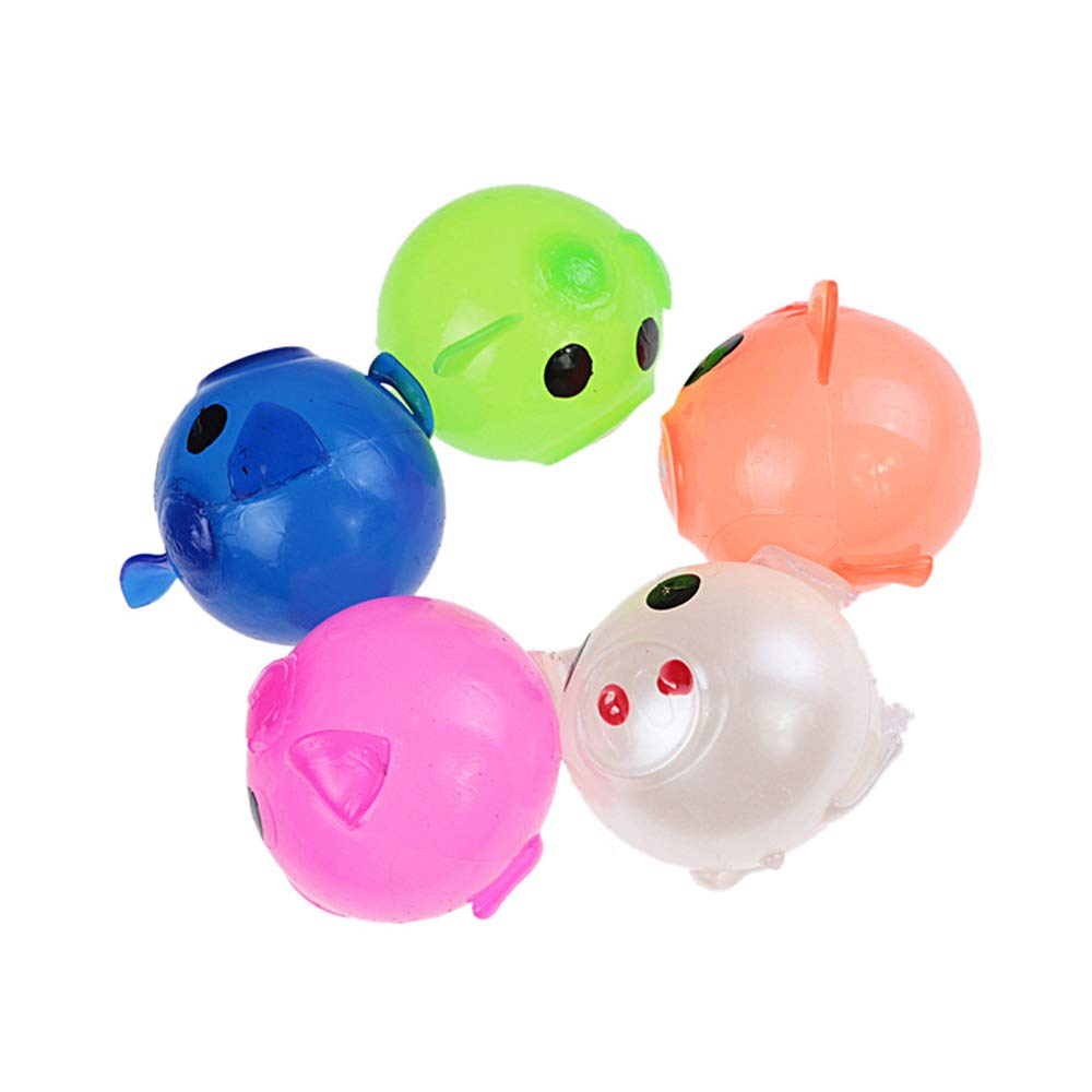 Amazon.com: Vercico Jelly Pig Stress Relief Smash-It Bola de ...
