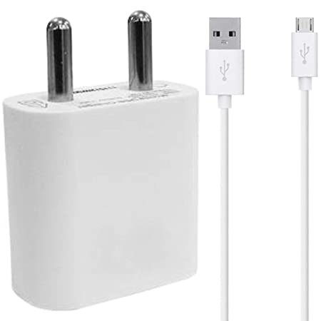 Microsoft Lumia 640 XL Compatible Charger Original Adapter Like Mobile Charger Hi Speed Travel Charger with 1 Meter Micro USB Cable Charging Cable  2