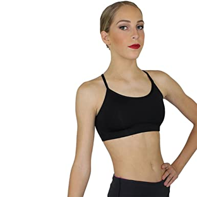 e839748defc6ab Motionwear 3 Strap Camisole Comfort Dance Bra Top at Amazon Women s ...