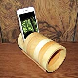Handmade Portable Acoustic iPhone Speaker Amplifier Fits All Review and Comparison