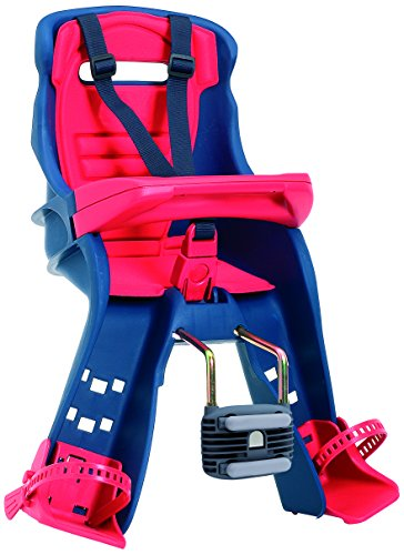Peg Perego Orion Blue/Red Front Mount Child Seat by Peg Perego