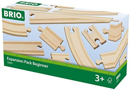 Brio Train Tracks (BRIO Beginner's Expansion Pack)