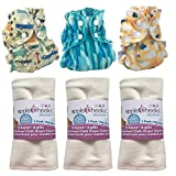 AppleCheeks Cloth Diaper Starter Package (Size 1 (7-20 lbs), Color Mix 3)