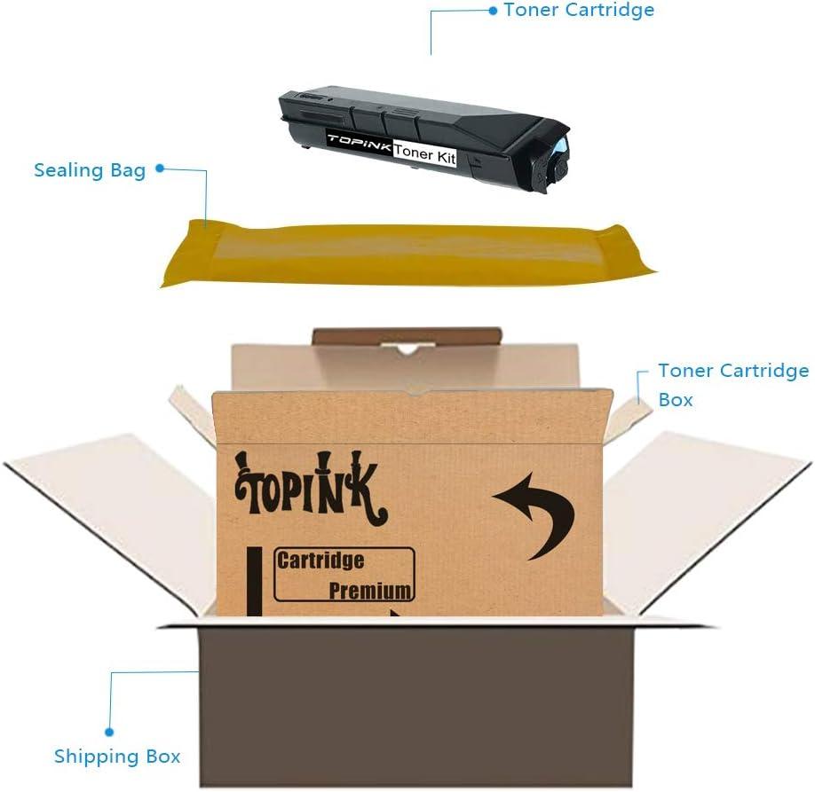 TopInk TK-869 Replacement for Copystar CS-350ci Printer Toner Cartridge High Yield-2 Black