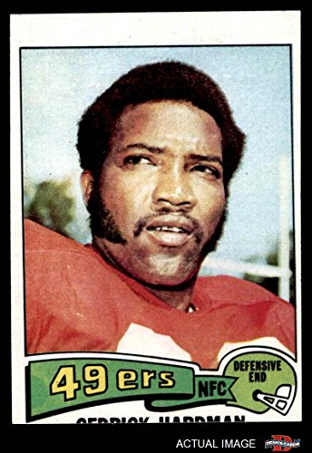 1975 Topps # 511 Cedrick Hardman San Francisco 49ers (Football Card) Dean's Cards 2 - GOOD - 511 Francisco San