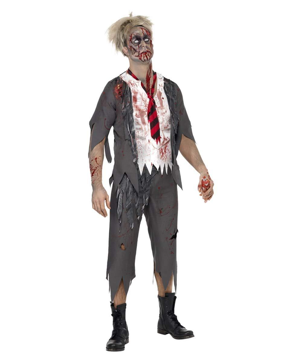 traje de terror escolar la Escuela Secundaria M: Amazon.es ...