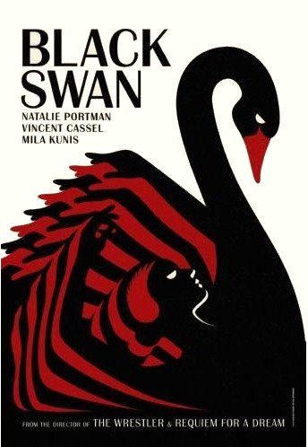 Black Swan Movie Poster Portman #01 24x36in Fast shipping in