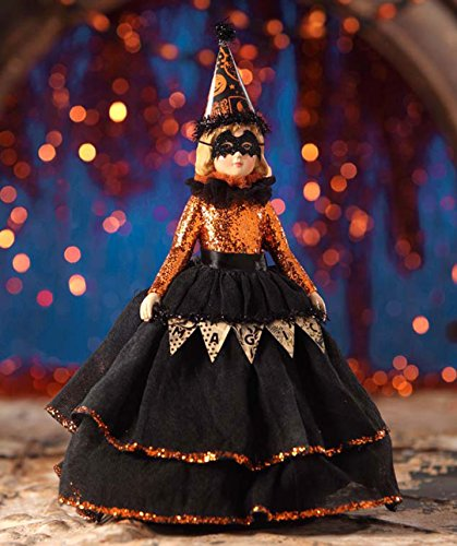 Doll Halloween Decor (Bethany Lowe Halloween TD6040 Magic Halloween Doll 2017)