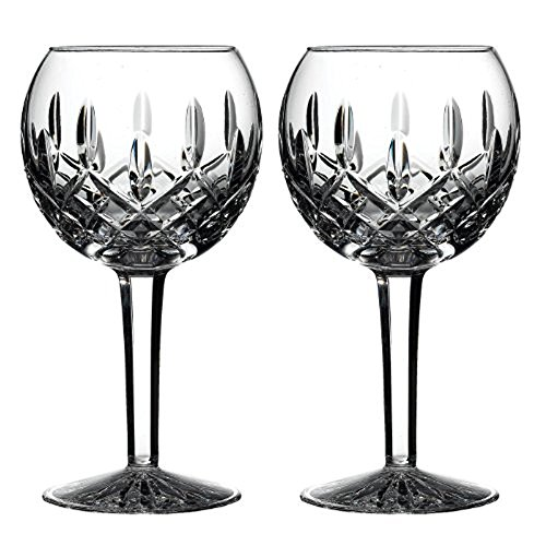 Waterford Classic Lismore Balloon Wine Glass, Set of - Lismore Crystal
