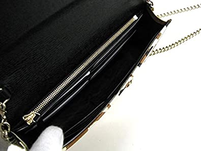 6f3294ad5ffb15 Amazon.com: Gucci Leopard Print Leather Chain Cross Body Clutch Bag 354697:  Shoes