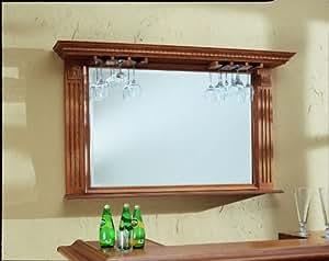 kokomo back bar mirror w display shelf home. Black Bedroom Furniture Sets. Home Design Ideas