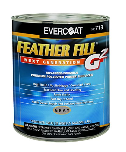 (Evercoat 713 Gray Feather Fill G2 Primer - 1 Gallon)