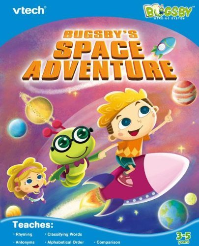 VTech Bugsby Reading System Book - Bugsby's Space Adventure