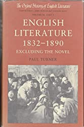 English Literature, 1832-1890: Excluding the Novel