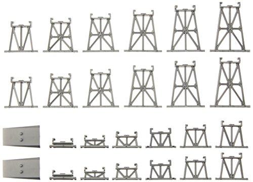 Bachmann Industries Graduated Trestle Track Set, N Scale, 26-Piece - Graduated Trestle Set
