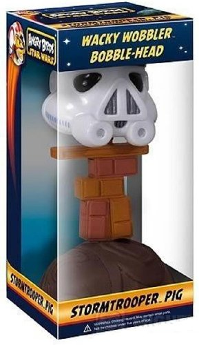 Angry Birds: Star Wars Wacky Wobbler Stormtrooper Piggy Bobble ()