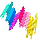 YUNAI Colorfull Hair Pins Bob Pins Hair Barrettes for Girls 100PCS