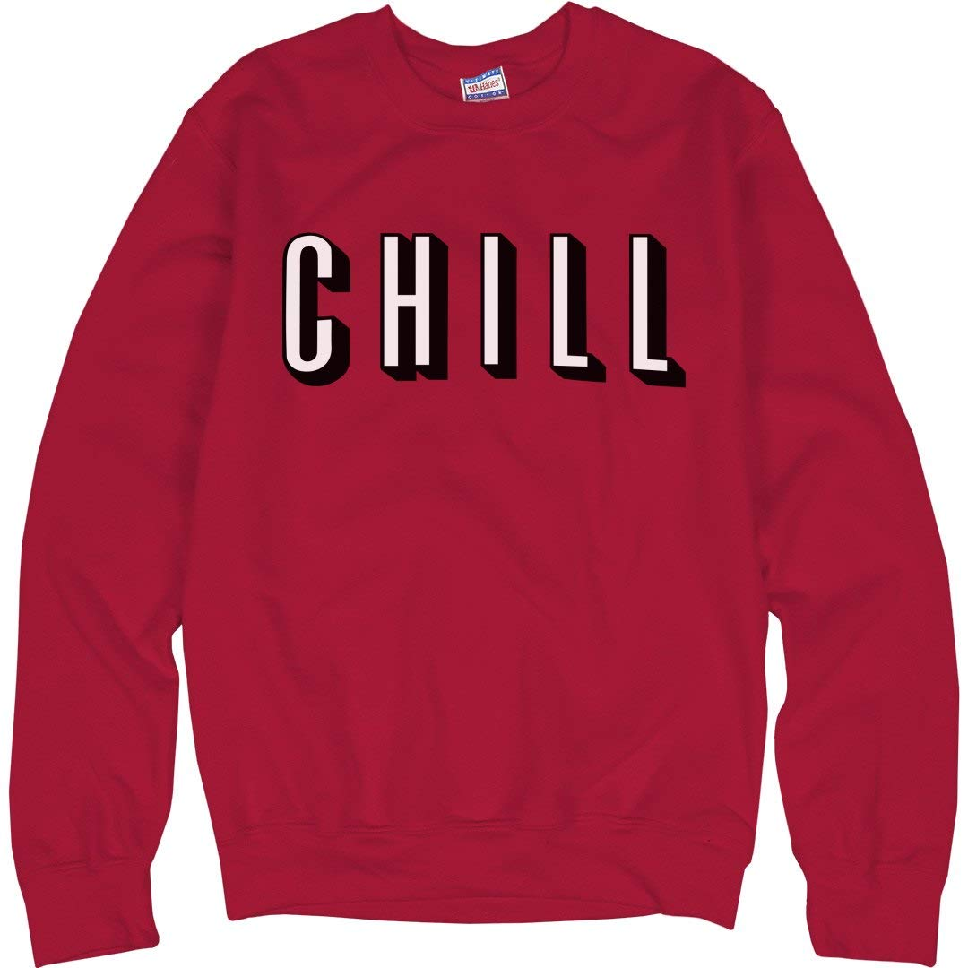 cd5880acfe3f ORG Netflix Chill Logo  Unisex Ultimate Crewneck Sweatshirt  Clothing
