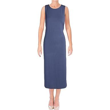 546ffd2d8 Polo Ralph Lauren Jersey Sleeveless Midi Dress (Newport Navy