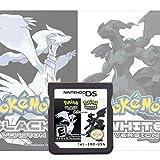 Pokemon Black&White Version Games Card 2 in 1