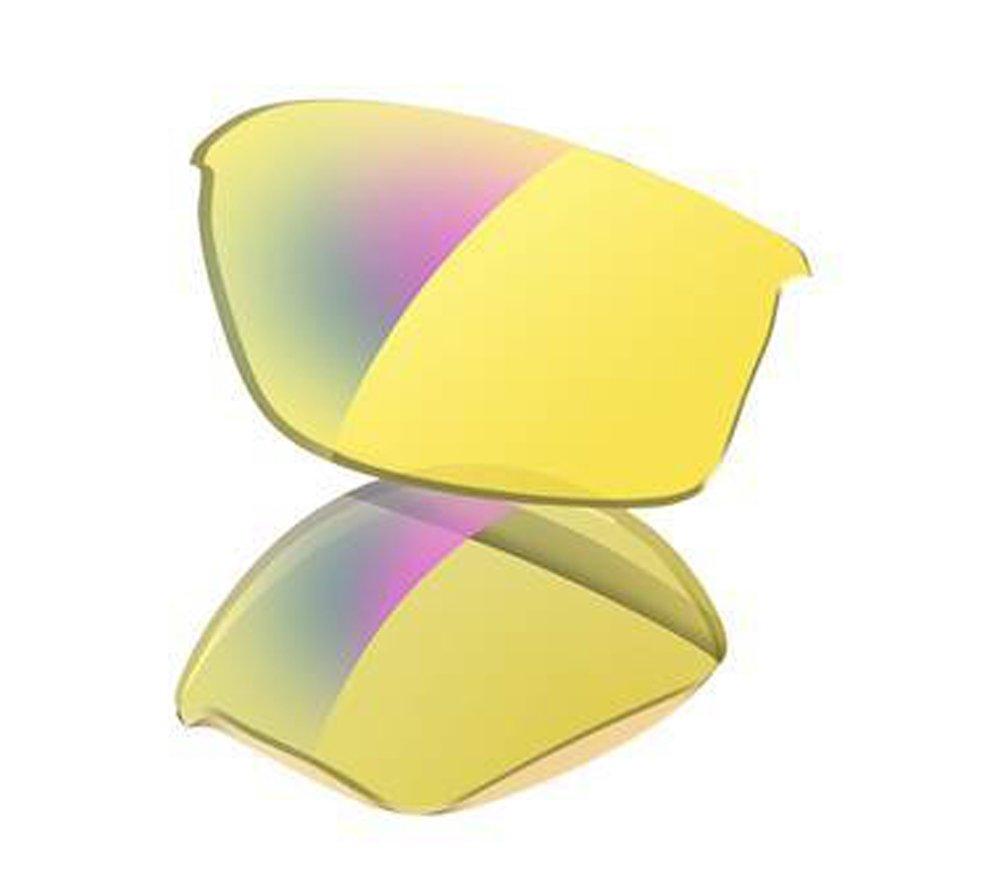 (オークリー) OAKLEY フラックジャケット用 交換レンズ B001N5RVL2 US Free-(FREE サイズ)|H.I. Yellow H.I. Yellow US Free-(FREE サイズ)