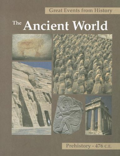 Great Events from History: The Ancient World Prehistory 476 C E