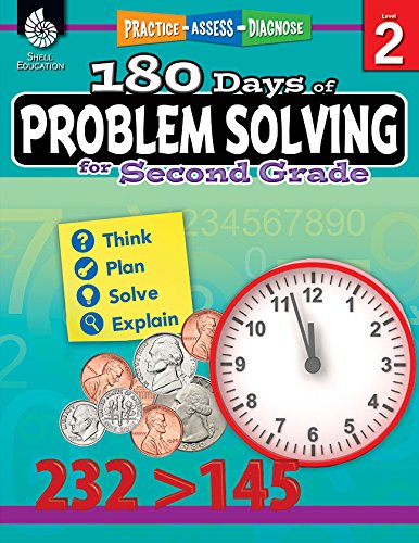 180 Days of Problem Solving for Second Grade (180 Days of - Solving Problem Books Math