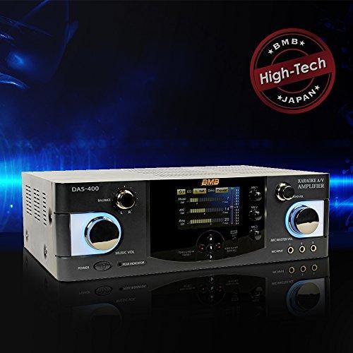 BMB DAS-400 600W 4 Channel Karaoke Mixing -