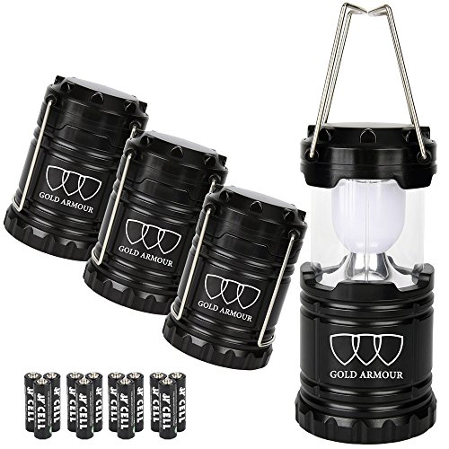 Brightest-LED-Lantern-Camping-Lantern-EMITS-350-LUMENS-Gold-Armour-Camping-Gear-Camping-Equipment-Camping-Lights-for-Hiking-Emergencies-Hurricanes-Outages-Storms