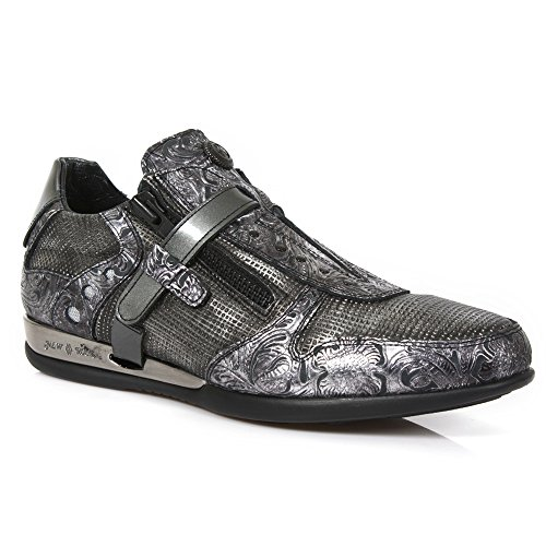 New Rock Handmade M HY018 C15 Steel Colored Herren Sicherheits Sportschuhe