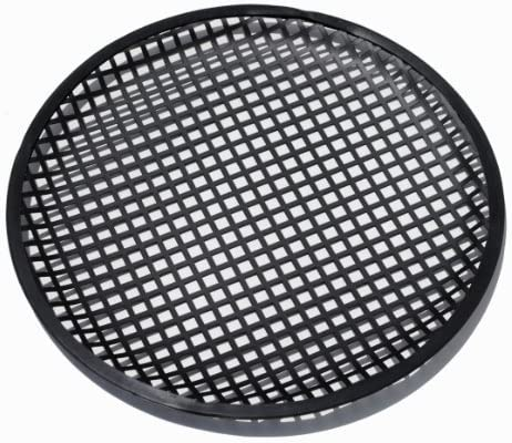 Pair Custom Install Parts 10 Inch Car Audio Speaker Sub Woofer Metal Black Grill Cover Guard Pack of 2